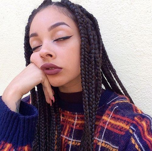 black skin Kendra girl light