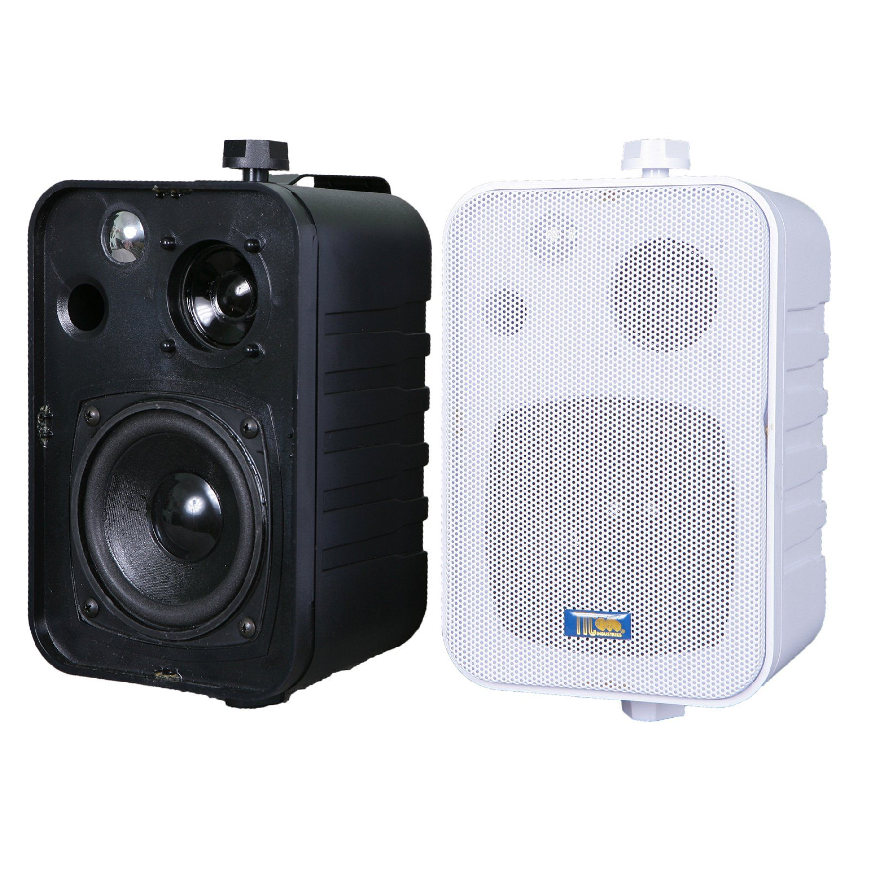 TIC ASP25 Patio Speakers Set of 2 ASP 25 BLK