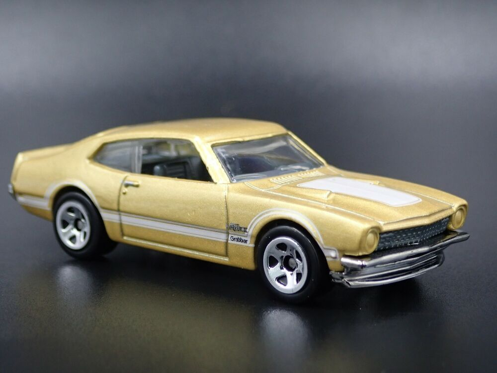 1971 Ford Maverick Grabber Rare 1 64 Scale Collectible Diorama