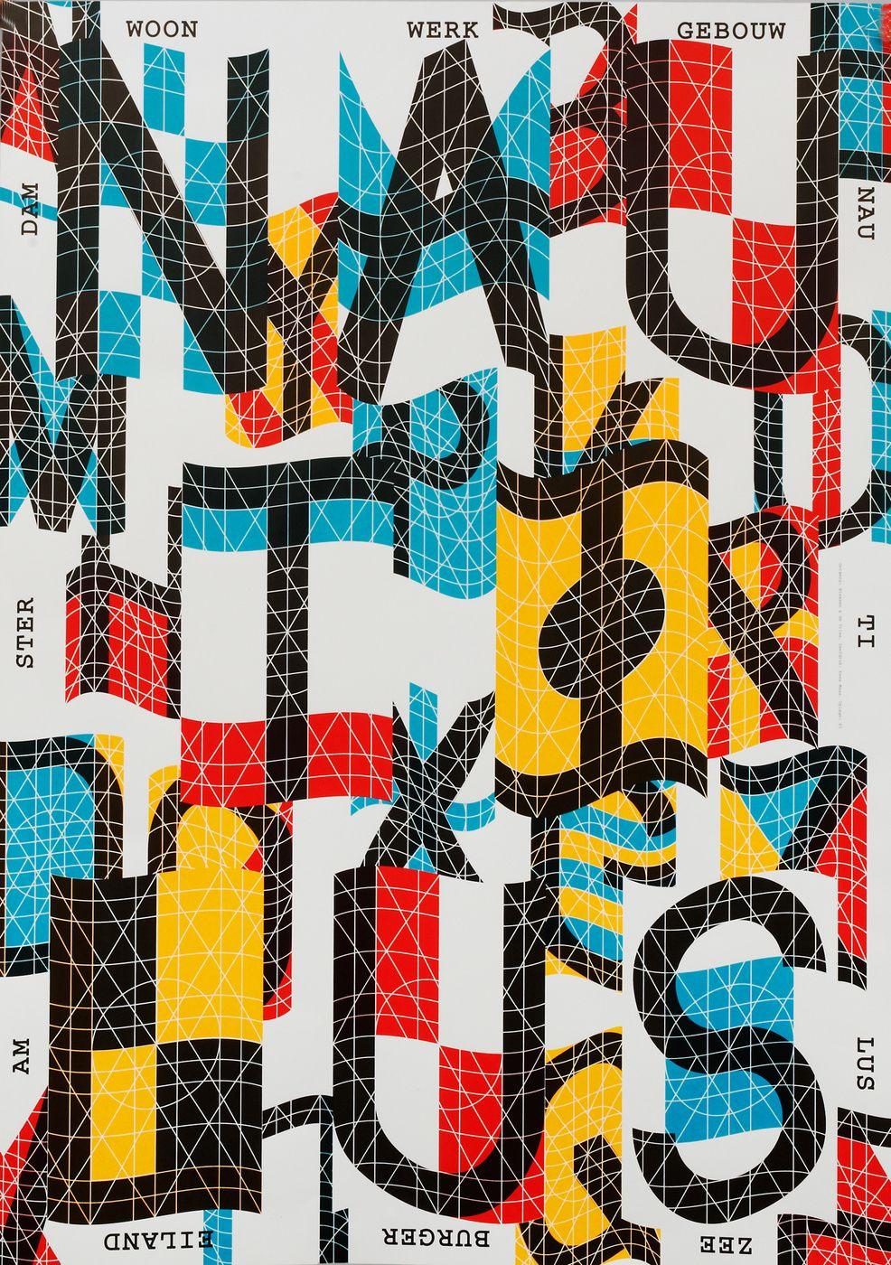 Niessen De Vries Graphic Poster Graphic Design Typography Typography Poster
