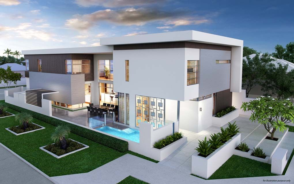 modern contemporary house design australia - Home Design Australia