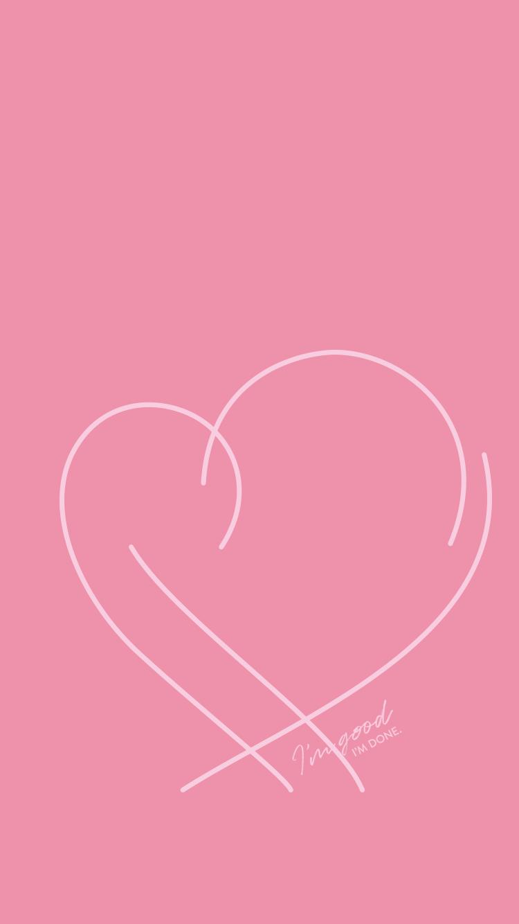 Wallpaper Jungkook Warna Pink