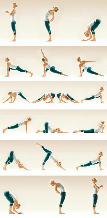 Yoga routine for your back
