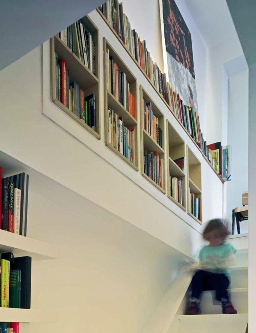 23 Built In Bookshelves Home Interior Design Shelving Staircase Bookshelf Bookshelves Built In Staircase Design