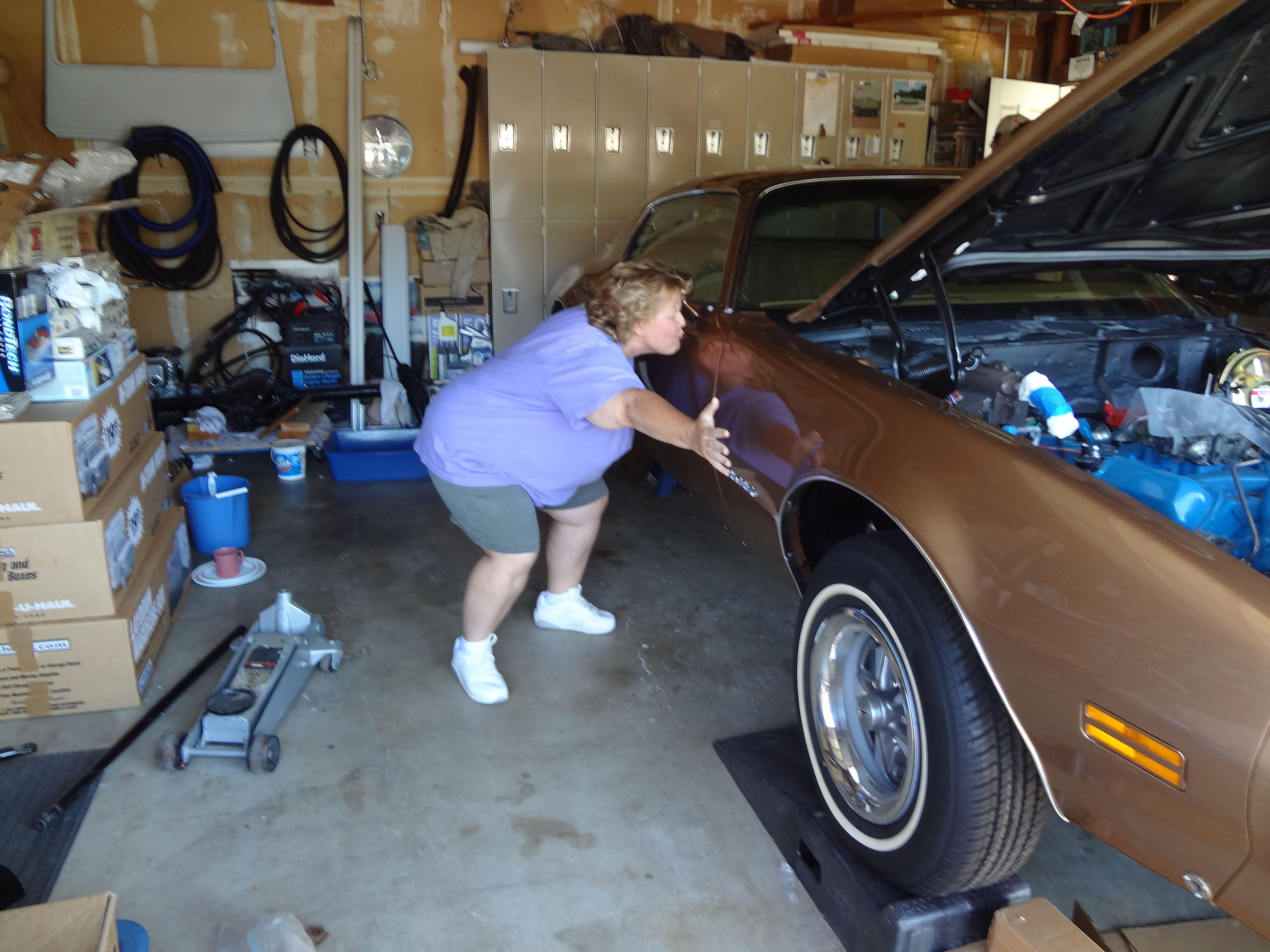 Sue Kessler Shows Pat Mckinney S 77 Firebird Some Love Rockford
