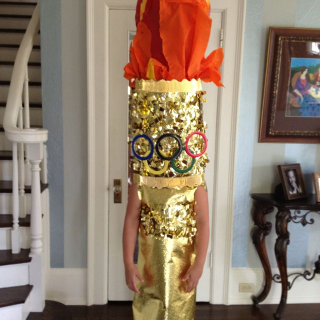 Olympic Torch Costume Class Ideas Team Costumes Great