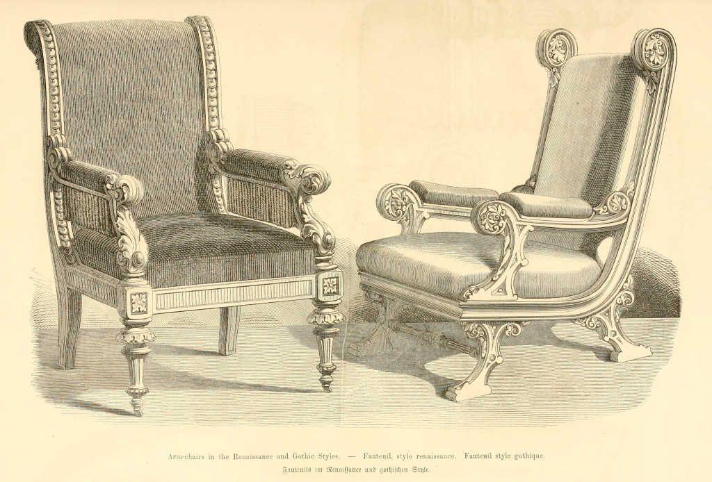 img dessins meubles mobilier fauteuil style renaissance fauteuil style. Black Bedroom Furniture Sets. Home Design Ideas