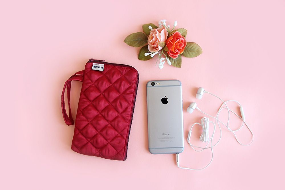 Cell Phone Pouch Maroon The Perfect Way To Carry Your Cell Phone