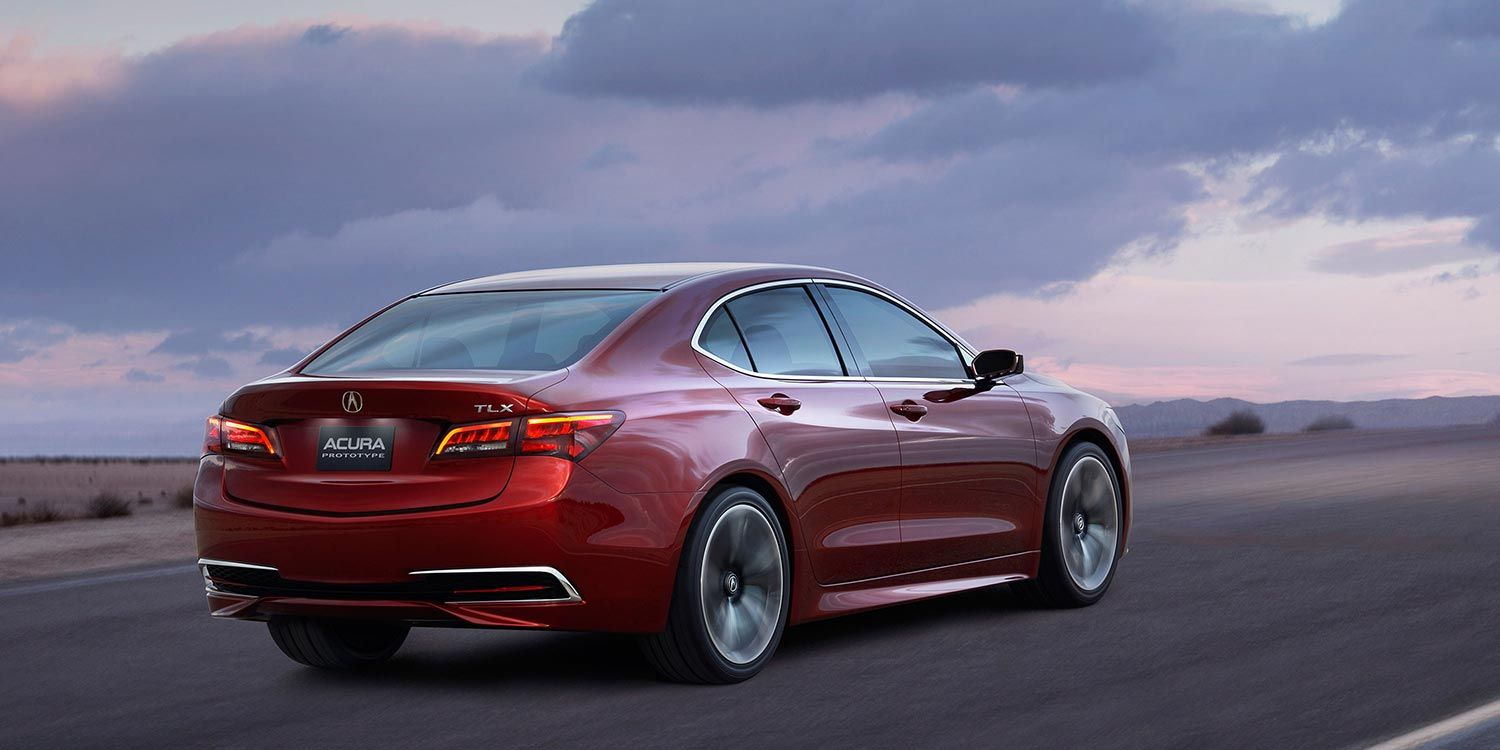the acura tlx sedan gives its driver the power of choice between two rh in pinterest com