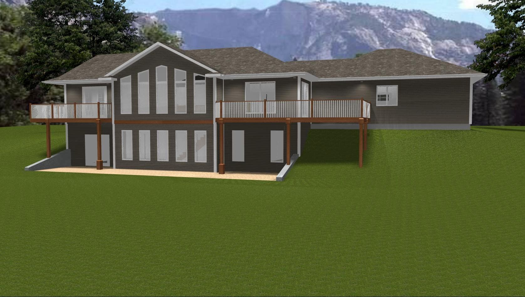 Craftsman Ranch House Plans With Walkout Basement Unique House Plans Basement House Plans Ranch House Plans