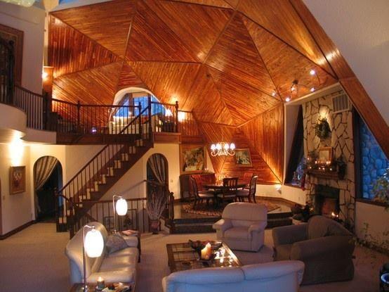 Stunning wooden ceiling Art & Interior Design