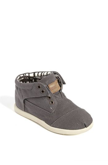 TOMS 'Botas - Tiny' Canvas Boot (Baby