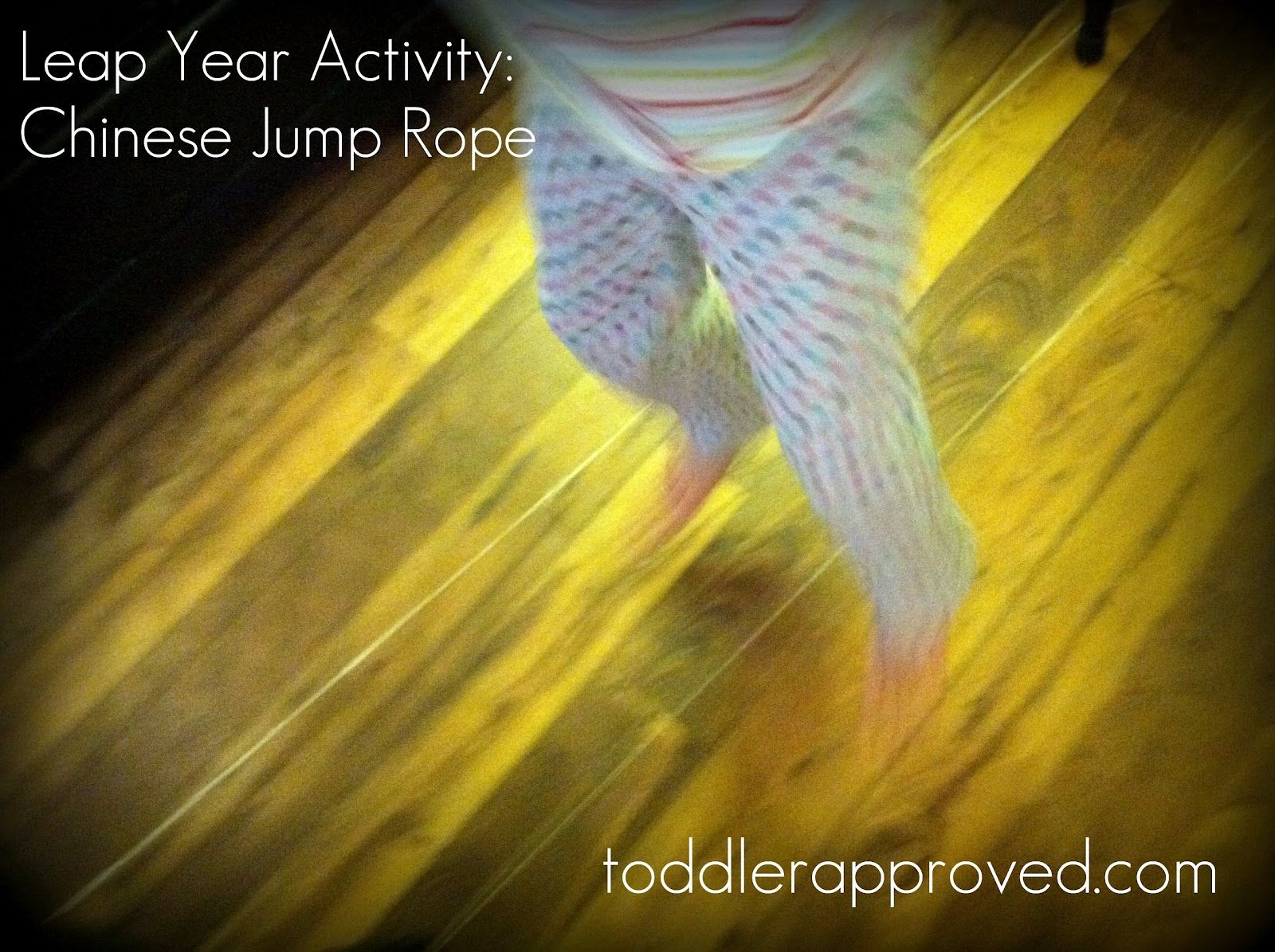 Chinese Jump Rope Active Game For Leap Year Toddler