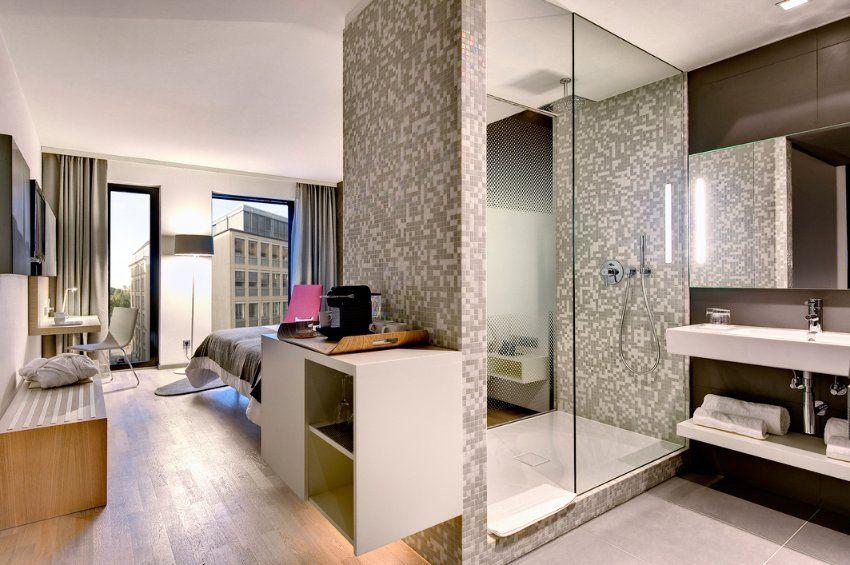 Barcelo Hotel Hamburg Germany Interesting Shower Moderne Hotelzimmer Offenes Badezimmer Offene Bader