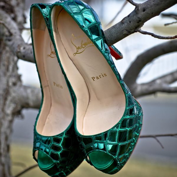 Pinterest Woman Emerald