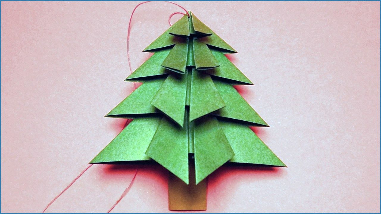 Tipss und Vorlagen: Weihnachtskarten Basteln Kindern Tannenbaum