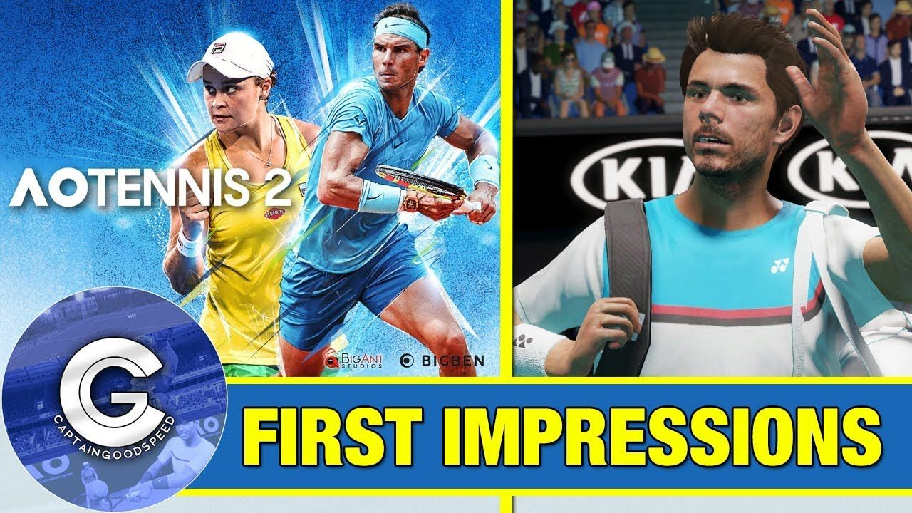 Ao Tennis 2 Is Here Ao Tennis 2 Ps4 Xbox One First Look Review Of Ao Tennis 2 Ao Tennis 2 Is Finally Here A Brand New Tennis In 2020 Xbox One Hit Games Xbox