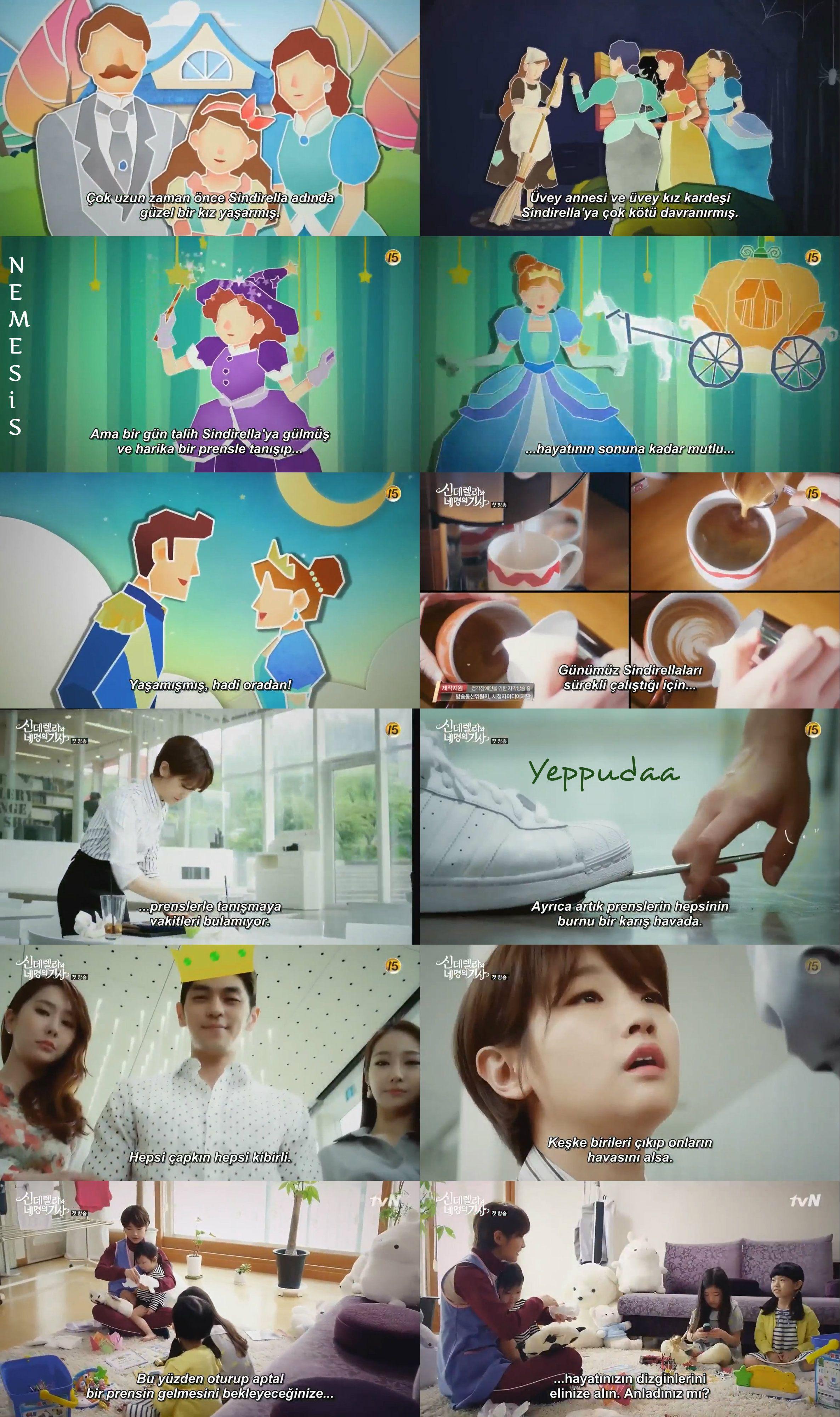 Cinderella and Four Knights | Dizi - film replikleri | Pinterest