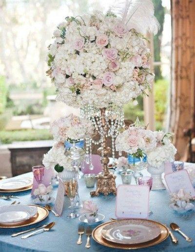Fairy Tale Wedding Decor Ideas Table Setting For The Cinderella