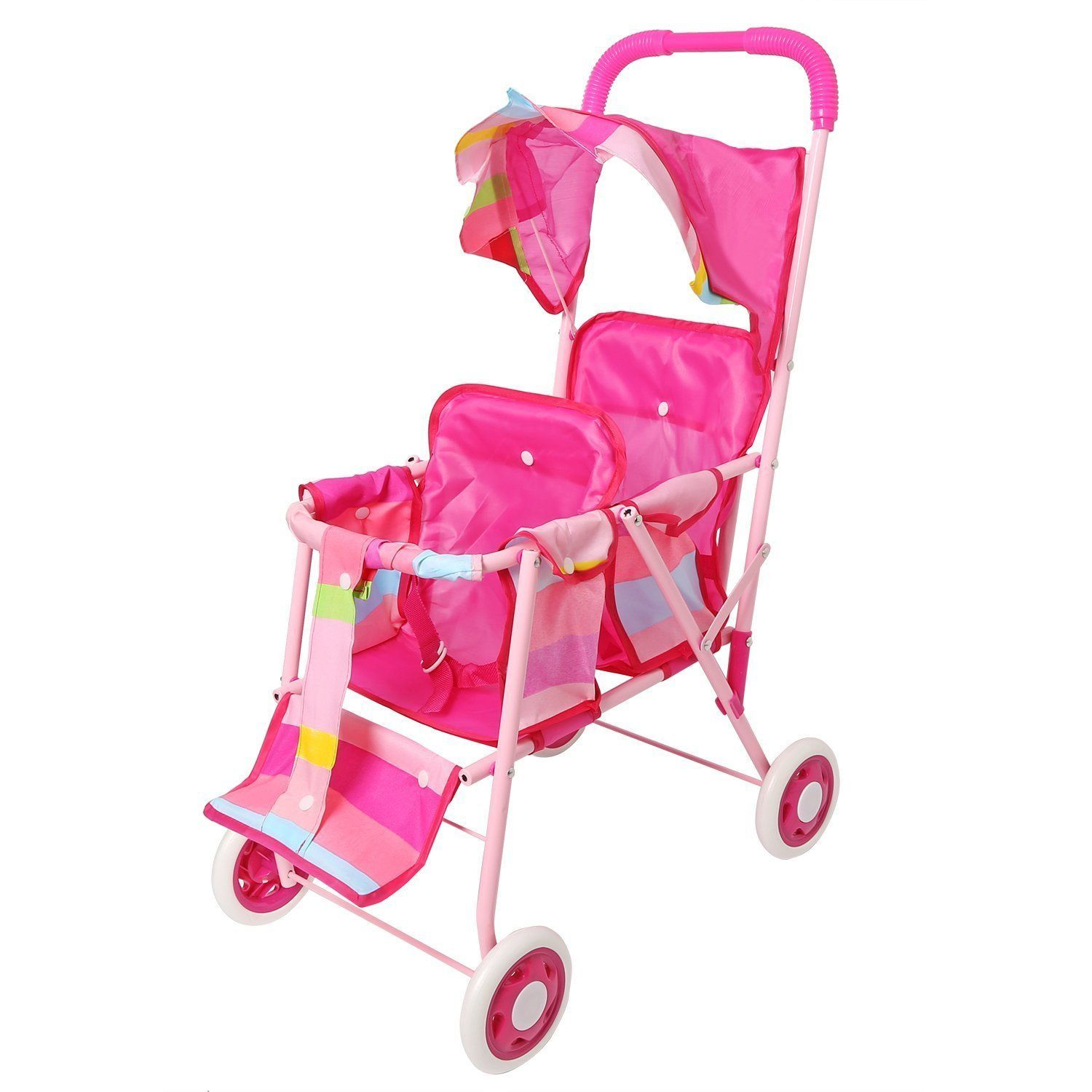 22 00 Amazon Com Pink My First Doll Stroller Foldable Stroller