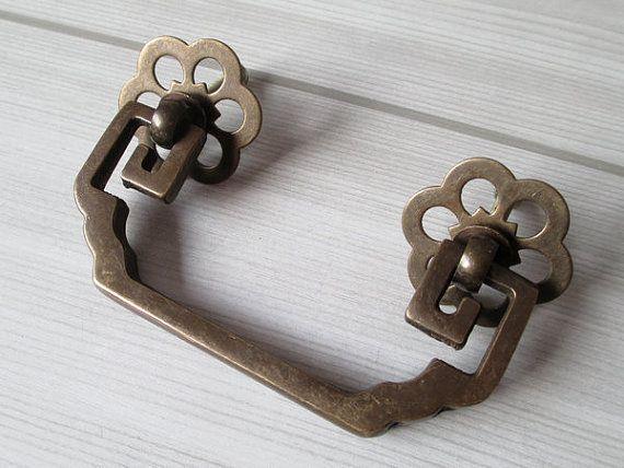 2 75 Drawer Knob Ring Pulls Handles Dresser Pull Drop Bail Swing Antique Bronze Copper Rustic Cabinet Handle Pull Decorative 2 3 4 70 Mm