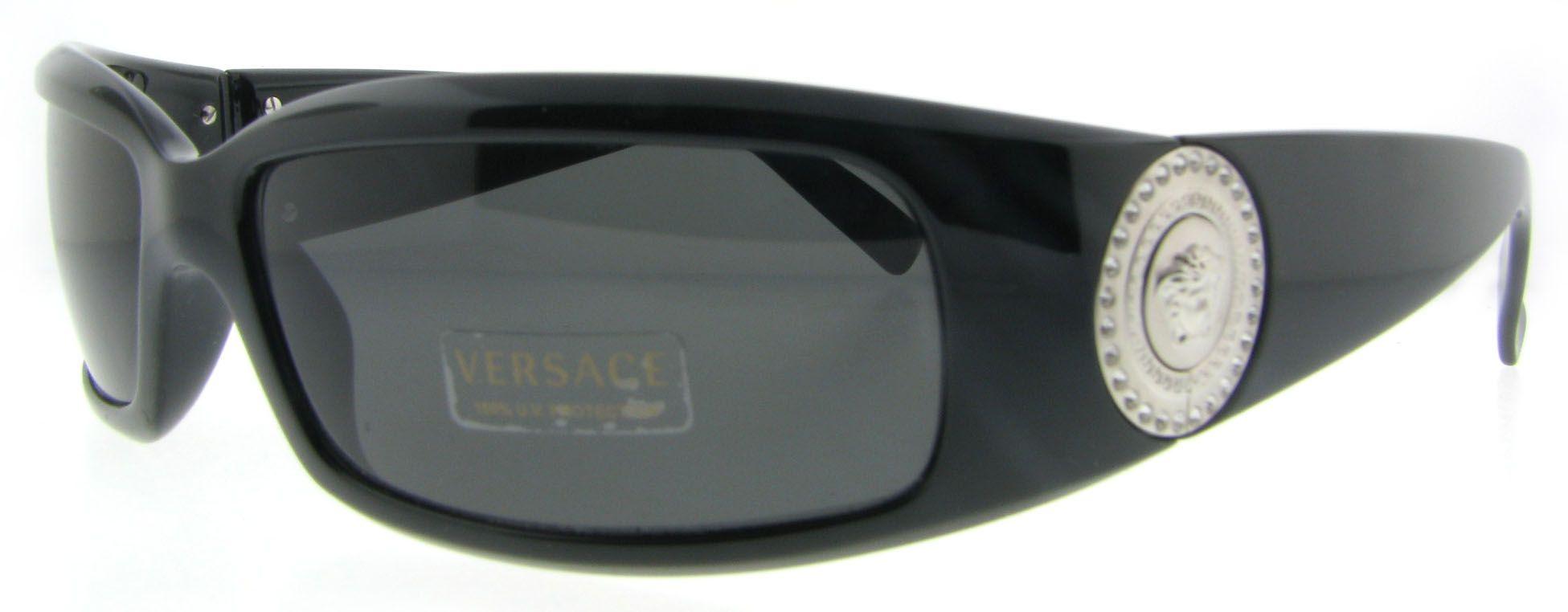 e3a1c2169e12 Versace Ve 4044b Gb1 87 Black Ve4044 B Sunglasses