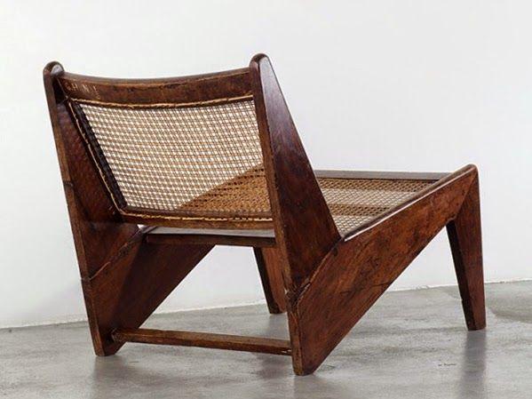 Pierre jeanneret sillones pinterest sillas sillones for Sillones de madera para exterior