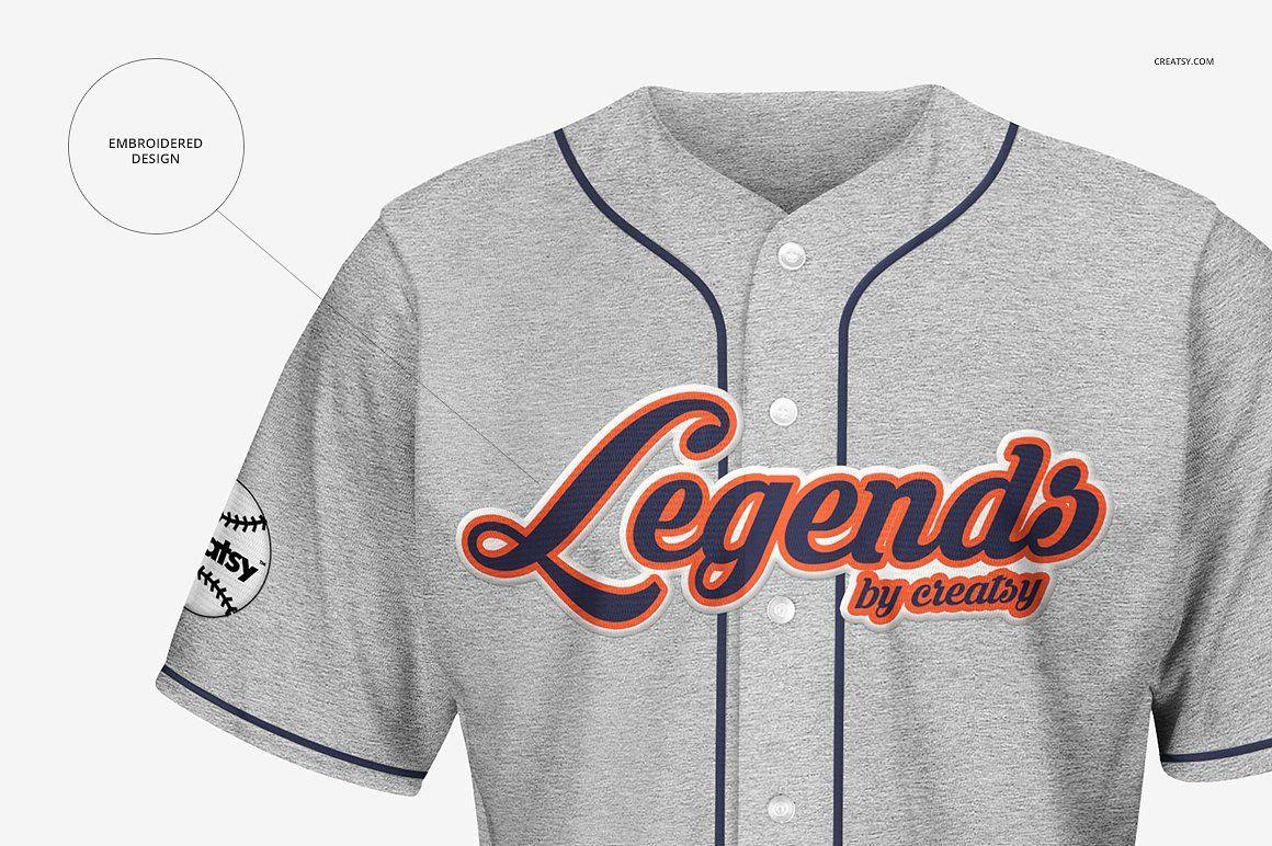 Download Baseball Jersey Mockup Set Baseball Jerseys Online Design Jersey