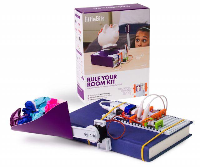 電子工作おもちゃ「littleBits」お部屋にポップな罠を仕掛けるキットを発売 2