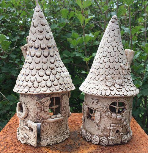 Kurs Feenhaus Keramikatelier im Rank Keramik ideen
