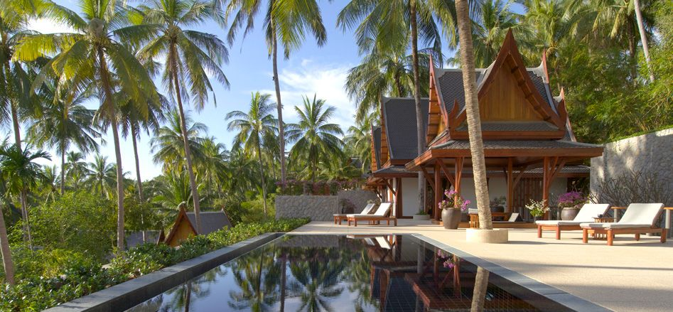 Reflecting The Style And Elegance Of Thai Culture Resort S Graceful Pavilions Villa Homes Are