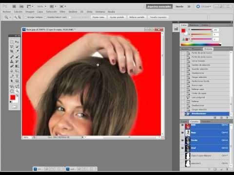 Trabajar Con Selecciones Guardar Selecciones Perfeccionar Borde 4 50 Photoshop Tutoriales Photoshop Videos Tutoriales