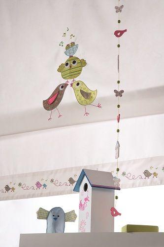 Ideas para hacer una cortina infantil ideas habitaciones - Hacer cortinas infantiles ...