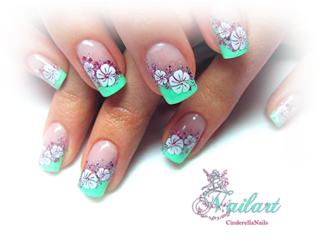 Fruhling Nageldesign Spring Summer Nails Nails Nail Designs