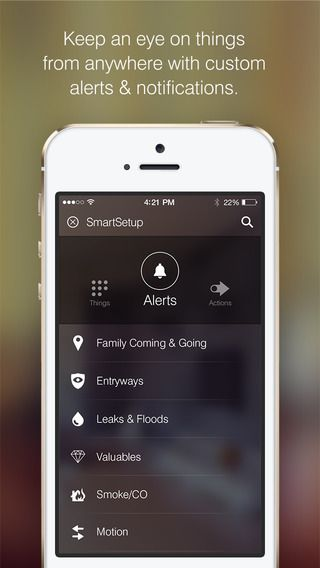 iPhone Smartthings 3 | Interface | Pinterest | User
