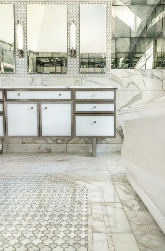 Pin By European Marble Granite On White On White On White Artistic Tile White Marble Bathrooms Master Bath Mosaic