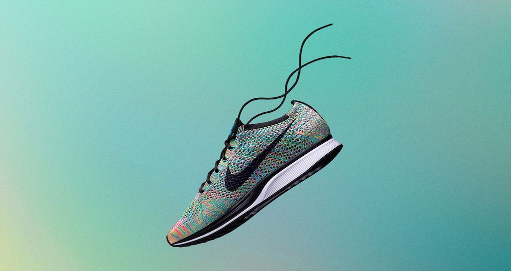 """nike flyknit racer - multicolor 2.0""  storelist: http://bit.ly/2nN4pHp  #nike #nikerunning #nikeflyknit #nikeflyknitracer #flyknit #flyknitracer #running"