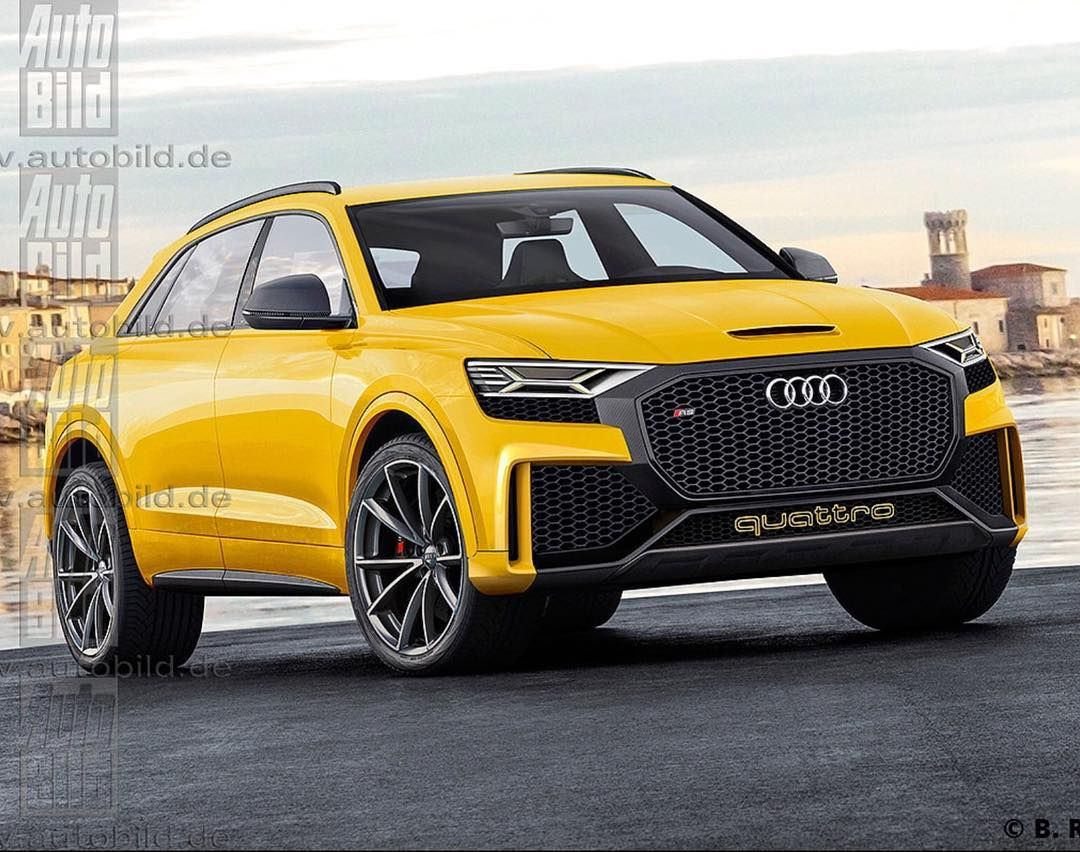 yellow black audi rsq8 cars motorcycles pinterest audi cars and audi cars. Black Bedroom Furniture Sets. Home Design Ideas