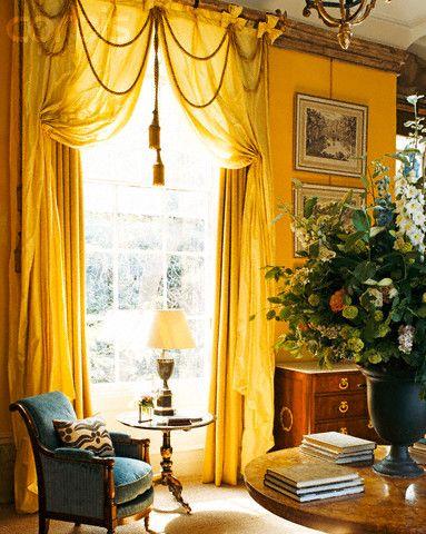 Beautiful window treatments design fabulous french for Beautiful window treatments