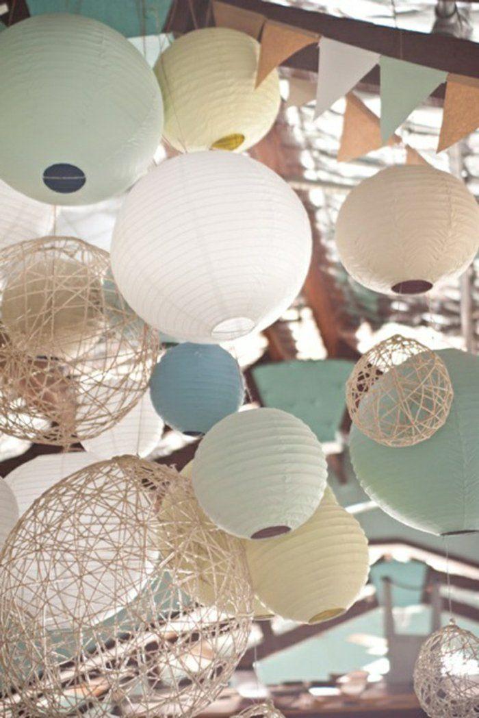 la boule chinoise est un joli et original moyen de d coration deco deco mariage d coration. Black Bedroom Furniture Sets. Home Design Ideas