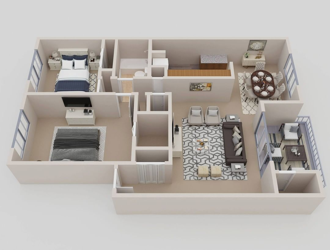 Multifamily 3D floor plans to showcase the beautiful units and lease them faster #realestate #floorplan #architecture #nycrealestate #larealestate #chicagorealestate #austinrealestate #torontorealestate #miamirealestate #vancouverrealestate #californiarealestate #texasrealestate #denverrealestate #floridarealestate #atlantarealestate #houstonrealestate #dallasrealestate #bostonrealestate #dcrealestate #phoenixrealestate #lasvegasrealestate #losangelesrealestate #bayarearealestate #seattlerealest
