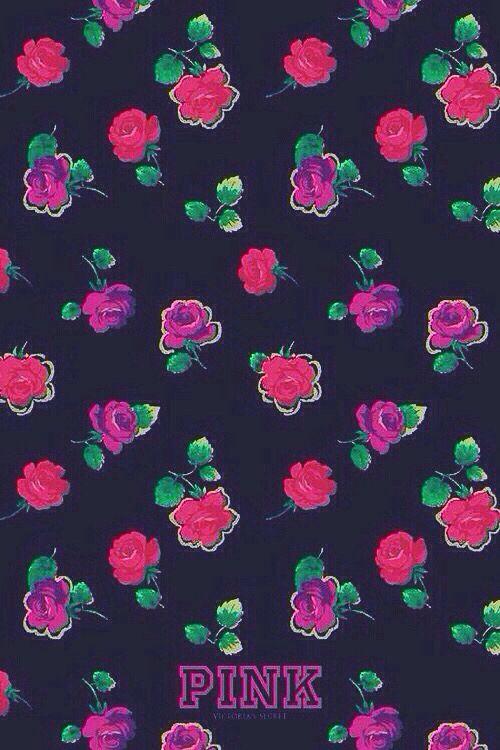 VS PINK Wallpaper Cute Patterns Victoria Secret Vs Pink Hipster