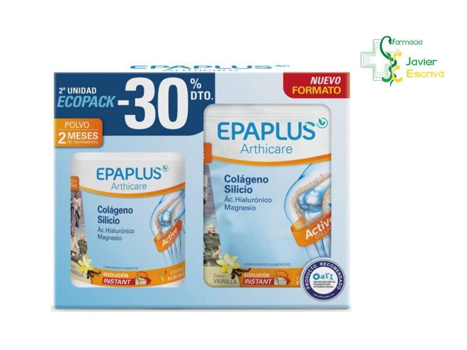Ecopack 30 De Descuento Segunda Unidad Epaplus Colageno Silicio