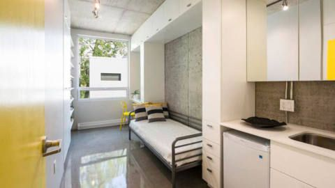 Edison Residence Onde: Montreal, no Canadá Situação do projeto: Concluído Empresa responsável pelo projeto: Kanva Número de quartos: 30