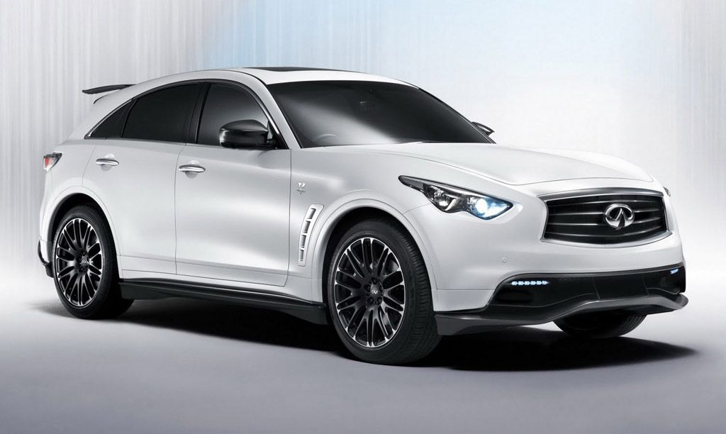 Infinity White Fx I Luv Intimating Cars