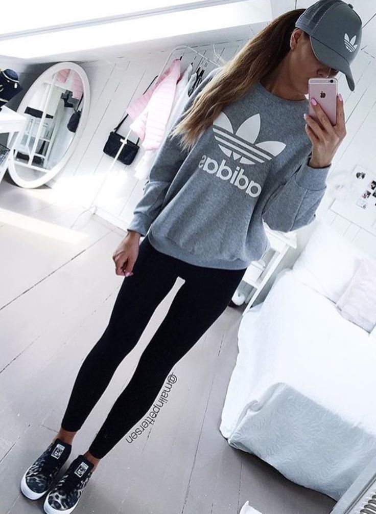 fa7d647524d adidas Originals Originals Baggy Track Pant Medium Grey Heather/White Free  Shipping BOTH Ways
