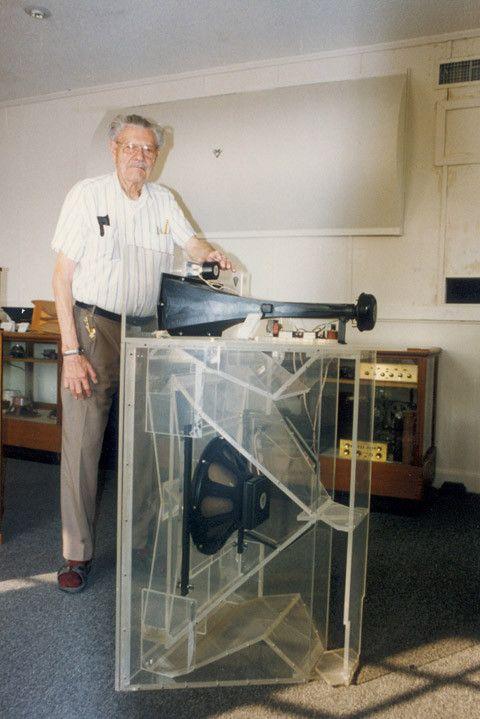 Paul Wilbur Klipsch Klipschorn Plexiglass Vintage Hifi