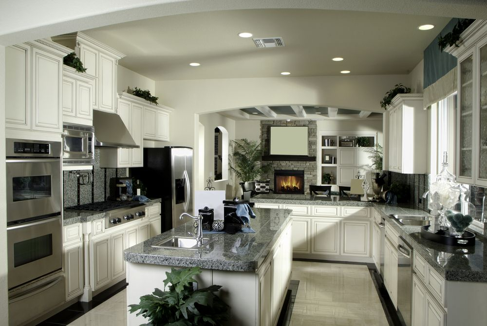 150 Ushape Kitchen Layout Ideas For 2018  Custom Cabinets Alluring Kitchen Design For U Shaped Layouts Inspiration Design