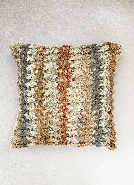 Canyon Chunky Knit Cushion