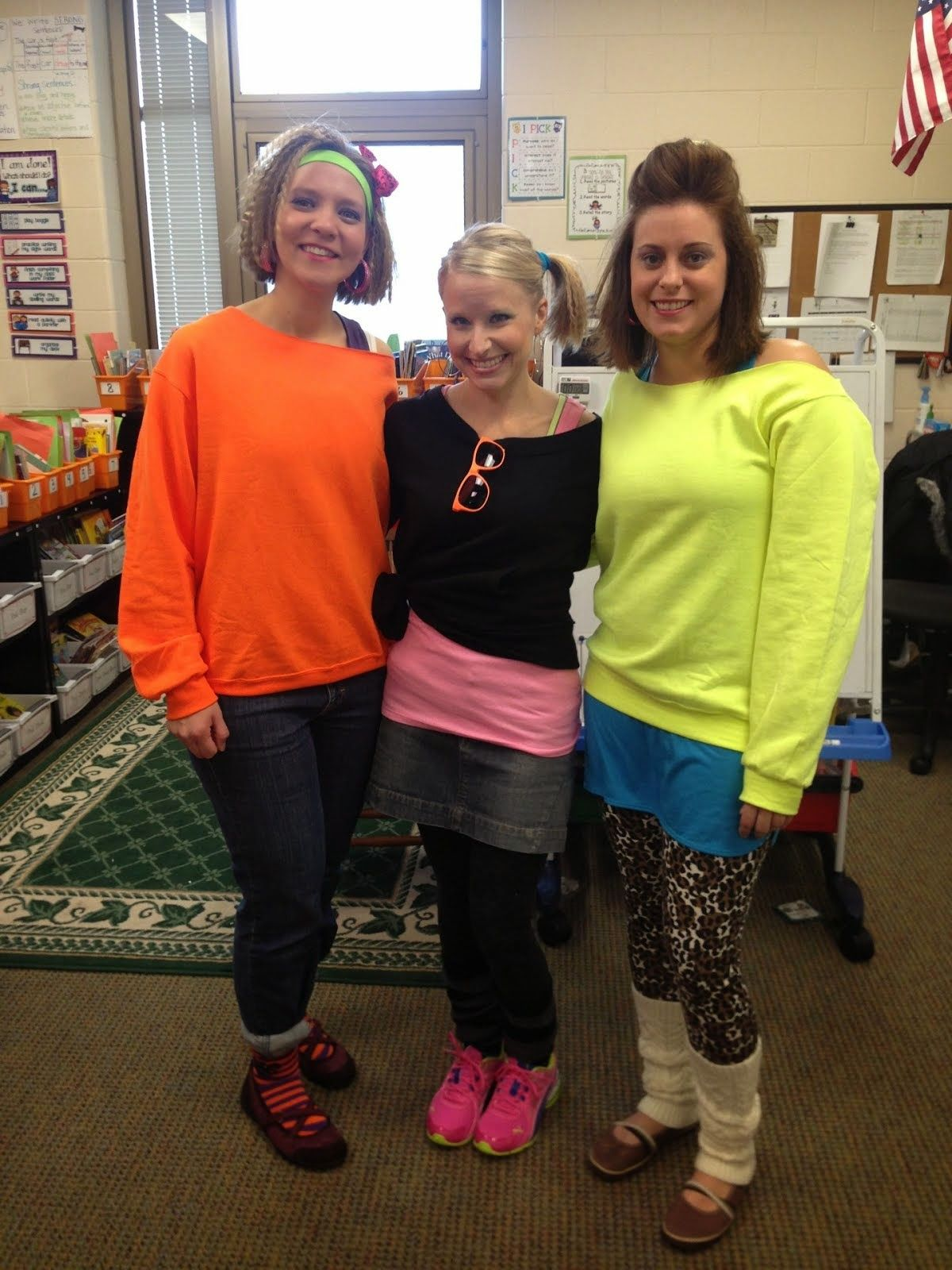 80\'s dress up day at school - Google Search | Halloween costumes ...